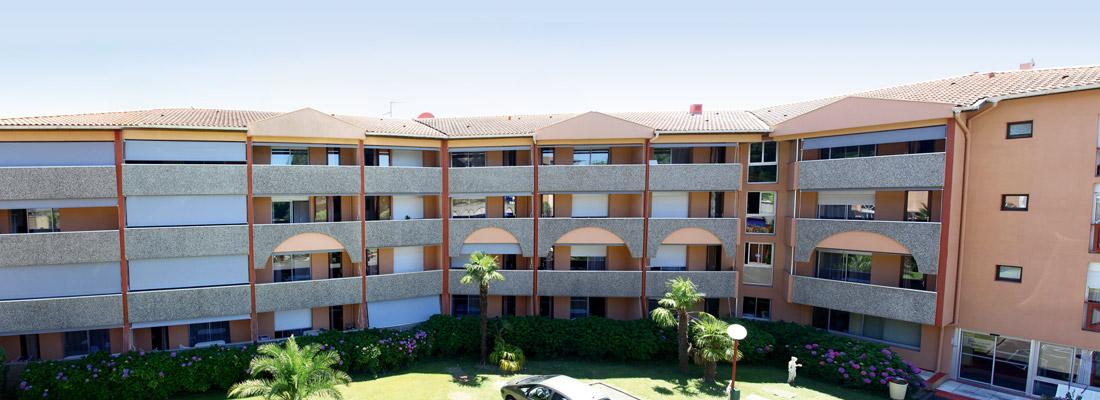 Les appartements des Terrasses de Borda