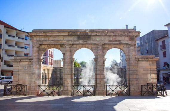 Dax la ville touristique et thermale
